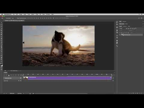 Boomerang Loop Style Video Effect Photoshop Action Tutorial