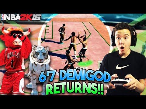 MY 6'7 DEMIGOD RETURNS TO NBA 2K16!! He's Unstoppable!