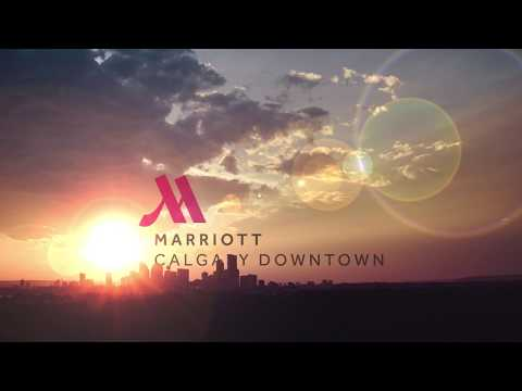 Calgary Marriott Downtown - Bar Setup