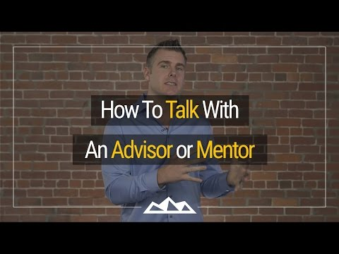How To Talk To A Mentor Without Feeling Nervous | Dan Martell