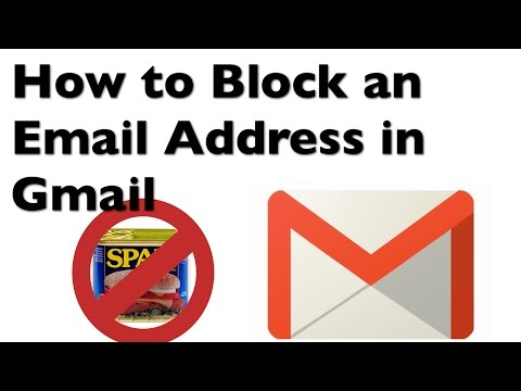 How to Block an Email Address with Gmail Blocklist