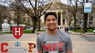 How I got into MIT, Harvard, etc | A Day in the Life of an MIT Student Ep6