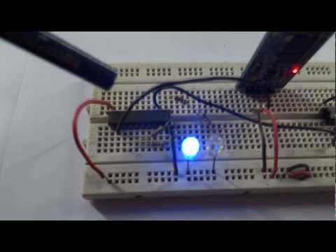 Controlling Appliances from Mobile Phones via Bluetooth ( AVR Project )