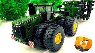 Carritos - Tractores infantiles -  Videos de juguetes para niños en español - Vehículos Agrícolas