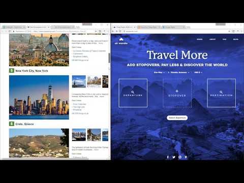 Kayak vs Google Flights vs AirWander - Adding stopovers [Cheapest Flight Search]