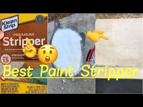 💢Best Paint Remover Stripper | How to Remove Paint from Cement, Wood, Metal or Masonry Review