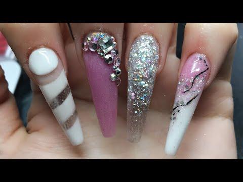 Acrylic Nails | Extreme Nails | Cut Design