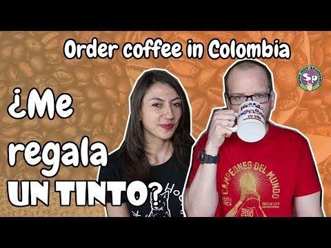 How to Order COFFEE in COLOMBIA?