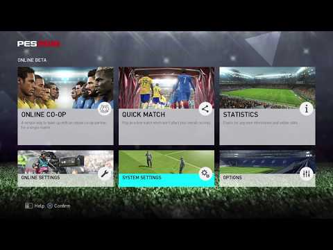 PES 2018 Online BETA (PS4/XboxOne/PC) First look !