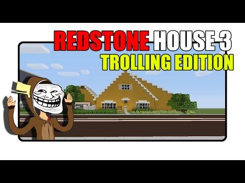 Minecraft Redstone House 3 [Trolling Edition] |Minecraft Xbox|