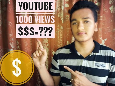 how much does youtube pay per views