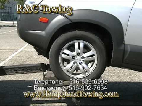 The Right Way and wrong way to hook up a tow truck by R&C Towing