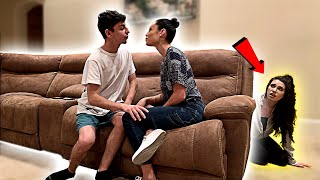My Ex-Girlfriend Spent the Night in my House & I Had No Idea... (24 HOUR CHALLENGE)