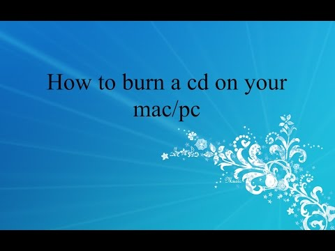 How To Burn A CD Using iTunes [MAC]