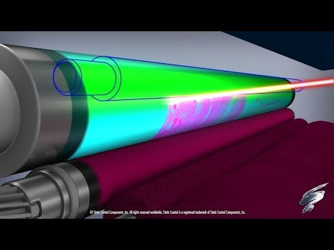 How a Color Laser Printer Works -- Inside an HP® 2600 Toner Cartridge