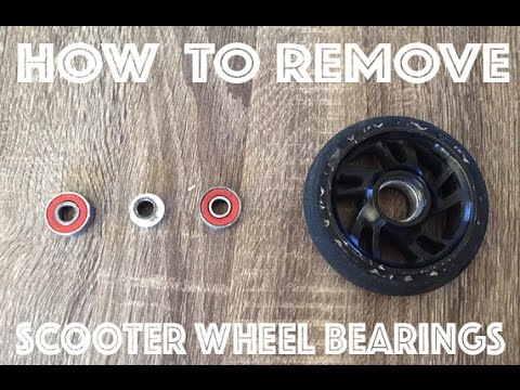 How To Remove and Install Scooter Wheel Bearings (Eaisiest Way!!)