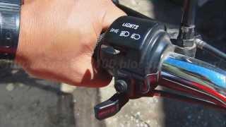 Como arrancar el Motor en Frio de Suzuki Ax 100 usando el