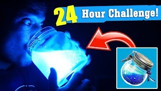 i Only Eat FORNITE FOODS For 24 HOURS! Fornite In Real Life DIY!