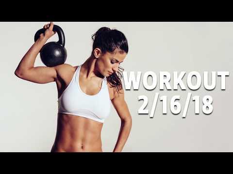 Workout 2-16-18