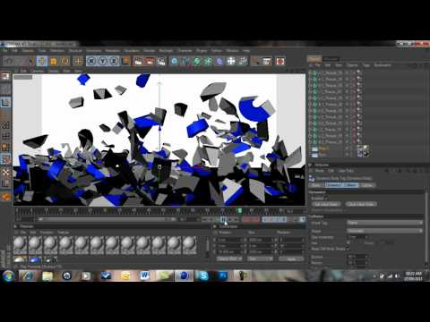 How To Make A Fly In Shatter Intro | Cinema 4D