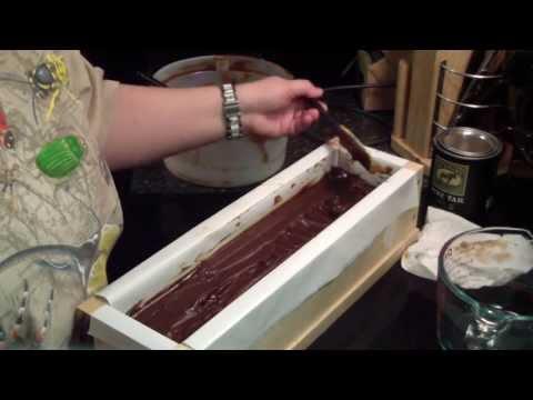 Making Pine Tar Soap