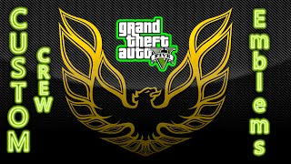 GTA V Online - How to put Crew Emblems on Motorcycles, without the