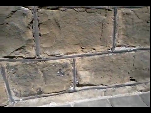paint removed from sandstone and masonry