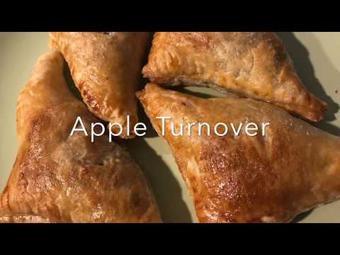 Easy Apple Turnovers with Puff Pastry- Recipe