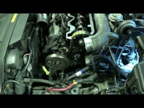 D5252T timing belt change part 7: Dynamic fuel pump timing check / adjust. Volvo 850 S70 V70 TDI