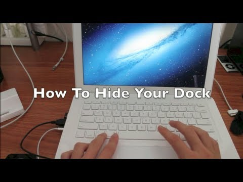 How To Hide The Dock On A Mac