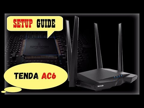Tenda AC6 Setup Guide