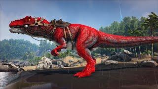 """ARK: Annunaki #15 - Bạo Chúa Khổng Lồ """"Alpha Giganotosaurus"""" Cũng Đã Bị Mình Bắt, Trùm Server Luôn 😁"""