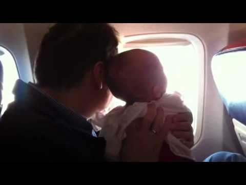 First time flying @ 16 weeks