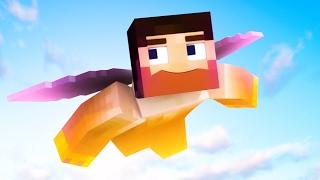 EXTREME FLYING CHALLENGE IN MINECRAFT! (Minecraft #7)