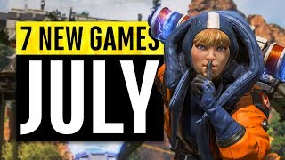 7 New Games Arriving in July 2019