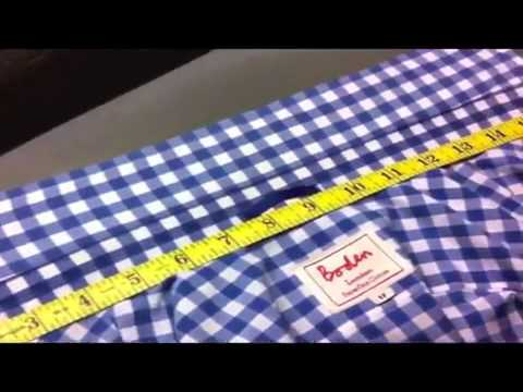 Shirt Collar Shrinkage