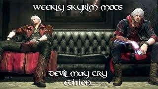 Weekly Skyrim Mods: Metal Gear Rising Raiden/Jetstream Sam