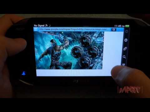 PS Vita how to search & install Wallpaper (I'm Back)!
