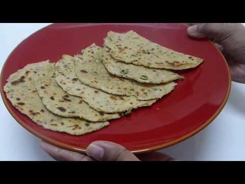 Spicy ஓட்ஸ் சப்பாத்தி [Oats chapati] in Tamil