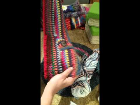 Crochet ideas~ what to do with scraps of yarn
