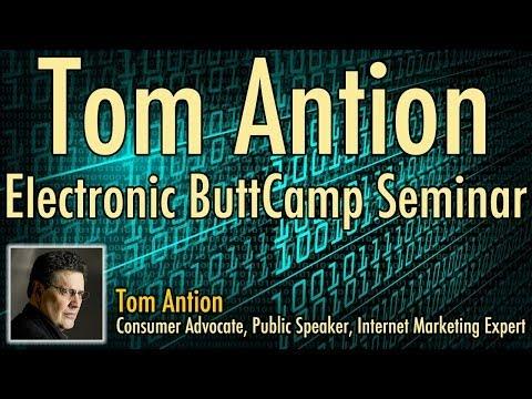 Tom Antion Electronic ButtCamp Seminar