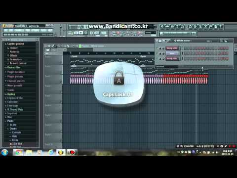 Making trance music with FL Studio 11 using Harmless// first try!
