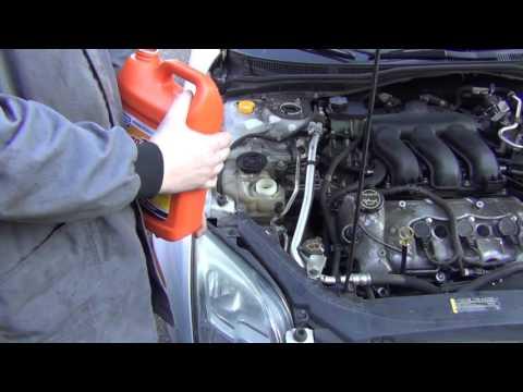 2007 Ford Fusion | Upper Radiator Hose Leak | Power Steering Fluid Change