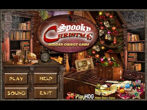 Spooky Christmas - Free Hidden Object Games by PlayHOG