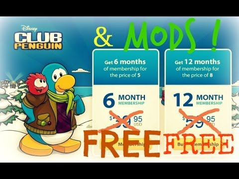 How To Get Free Membership In Club Penguin And Become A Mod (Free, No Virus, August 2014)