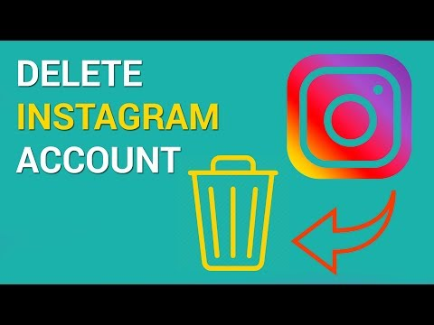 How to delete an Instagram account (iOS)