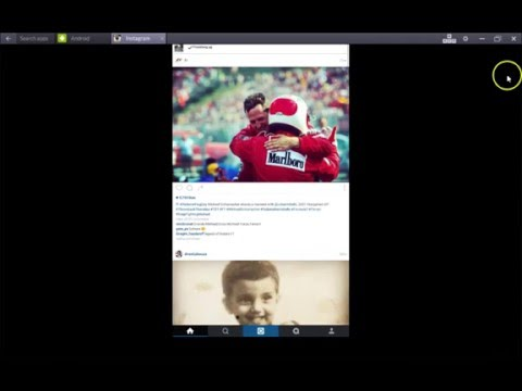 How To Upload Photos From PC To Instagram using Bluestacks 2016
