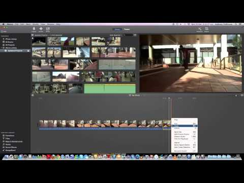 iMovie How To Do Slow Motion