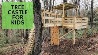 Emergency Tree Cabin Build (Treehouse)