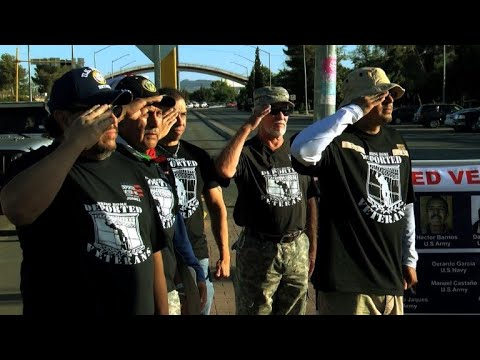 Mexican veterans deported from the US mark Memorial Day